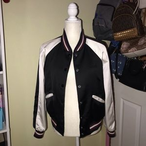 Coach Reversible Letterman Jacket